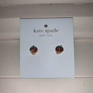 Kate Spade Strawberry Earrings
